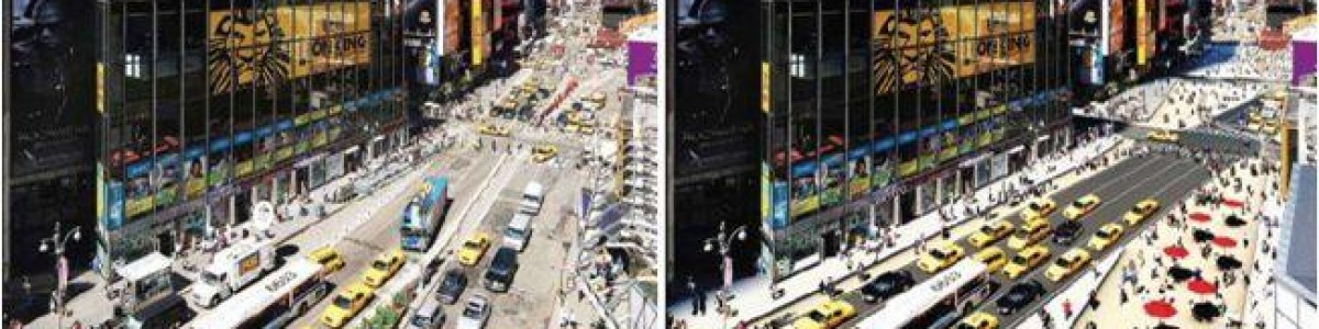 Ganando espacio ciudadano, un ejemplo en Times Square (New York)