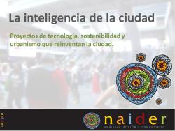 Inteligencia ciudad
