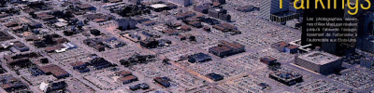 Parking y urban sprawl: un ejemplo extremo en Houston