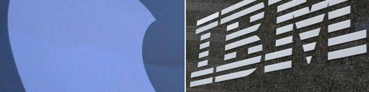 Matrimonio de Apple e IBM
