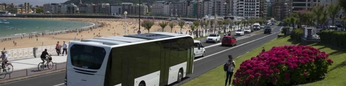 El autobus electrónico europeo tiene label vasco