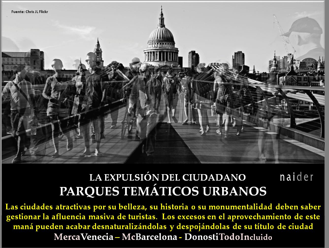 Turistas de ciudad texto