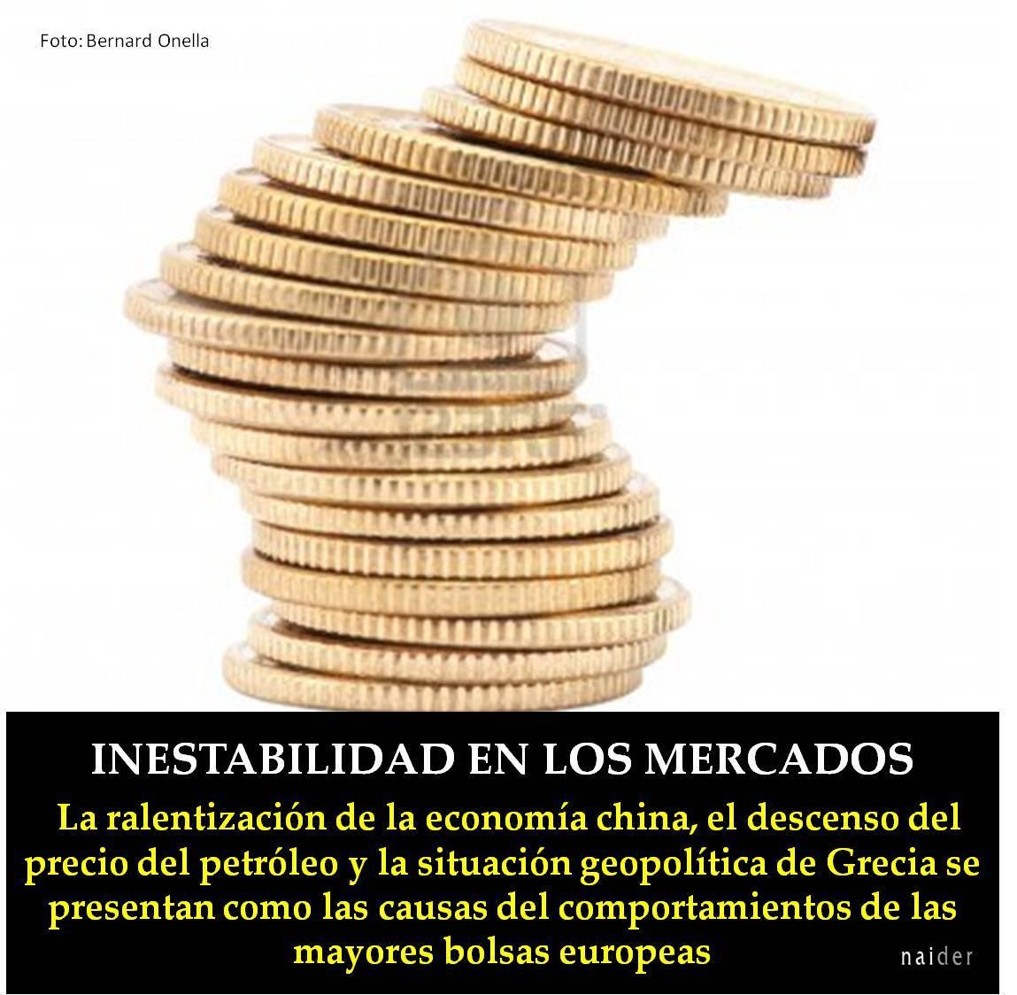 Inestabilidad en los mercados