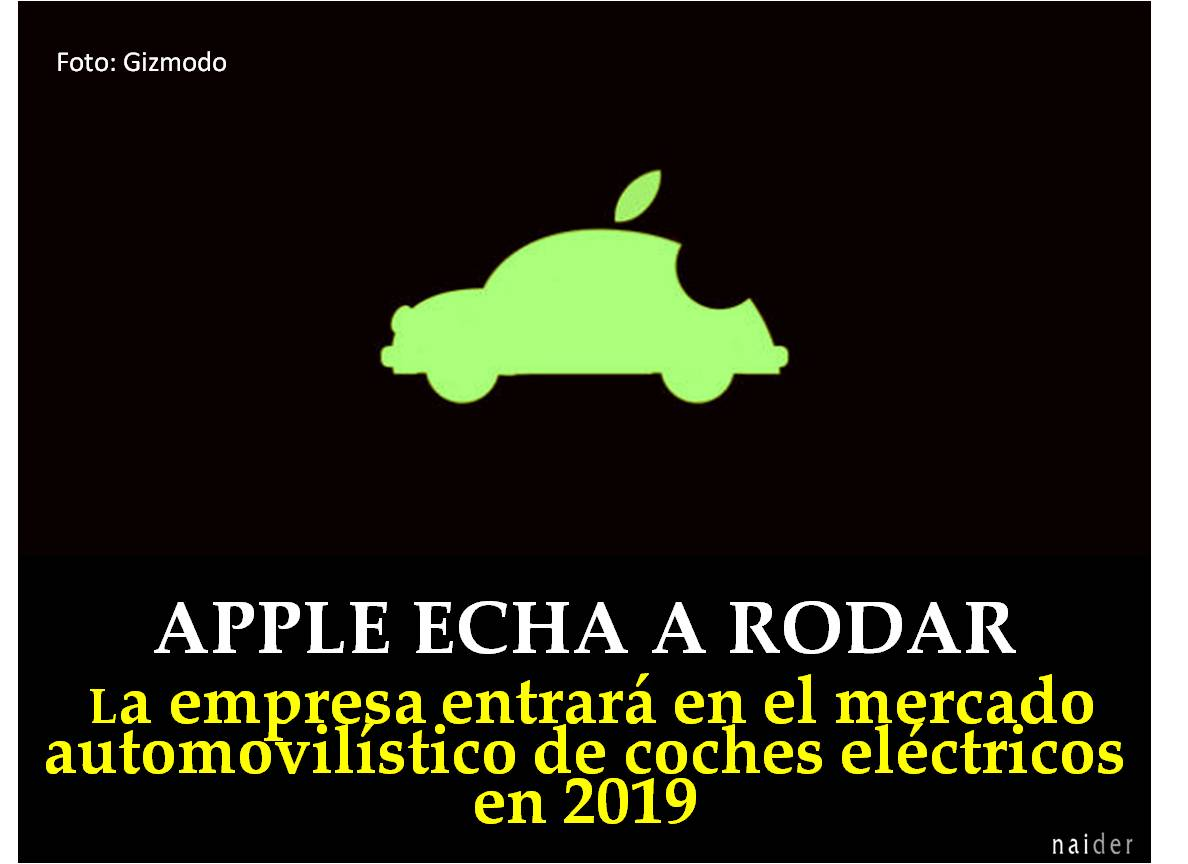 Apple echa a rodar