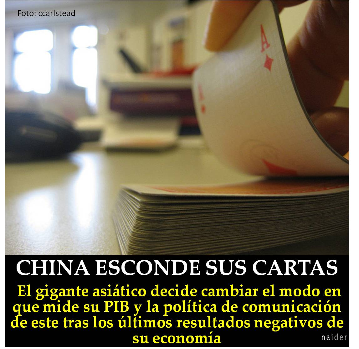 China, esconde sus cartas