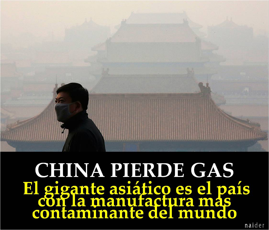 China pierde gas