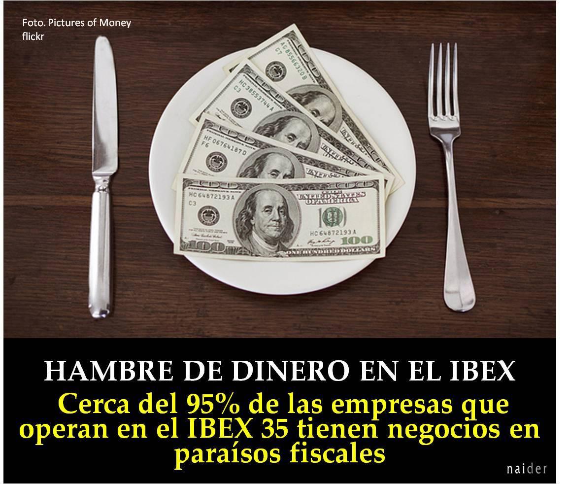 Hambre de dinero en el IBEX35