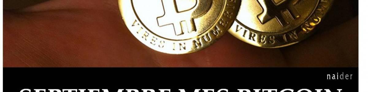 Septiembre, mes bitcoin