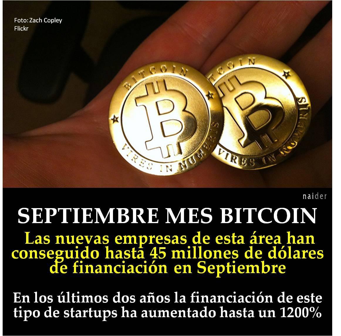 Septiembre mes bitcoin