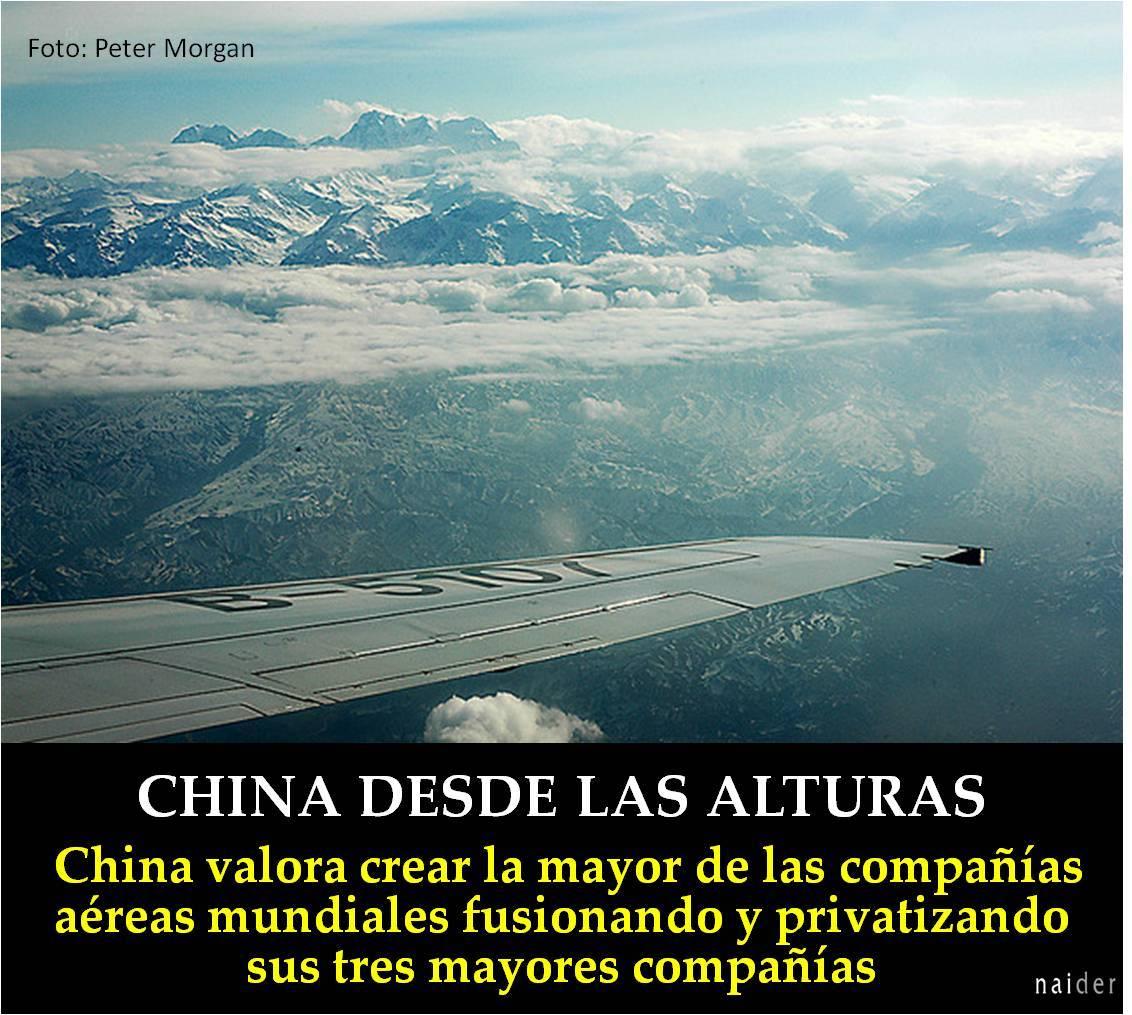 China desde las alturas