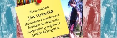 El economista Jon Urrutia se une al proyecto Naider