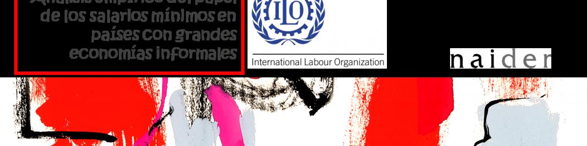 Naider analiza para la OIT las relaciones entre salarios mínimos y economía informal