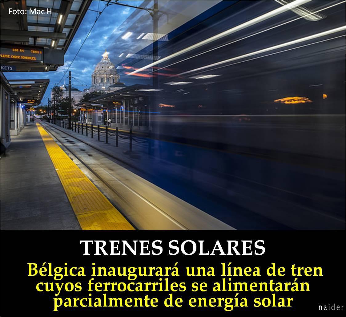 Trenes solares