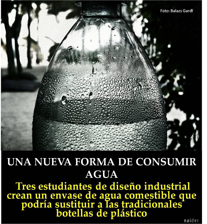 Una nueva forma de consumir agua