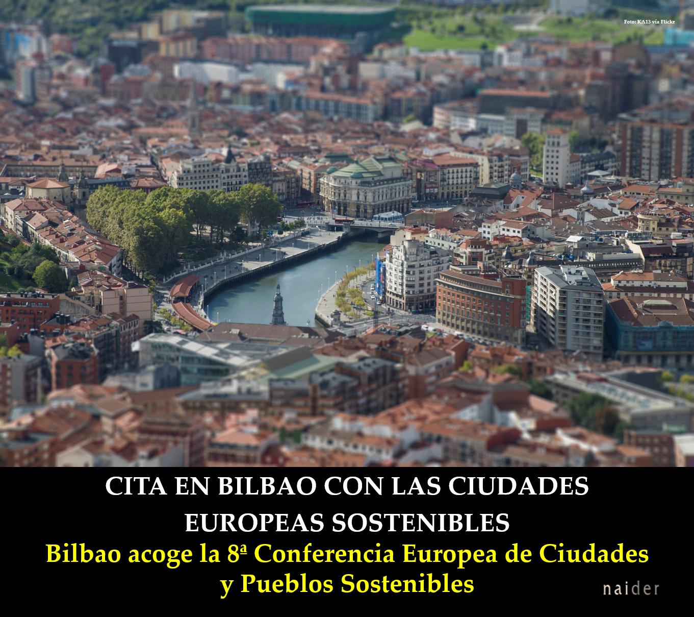 Cita en Bilbao con las ciudades europeas sostenibles infopost