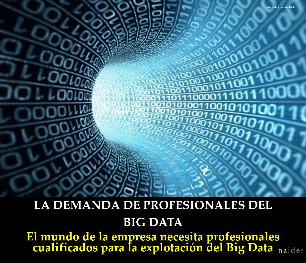 La demanda de profesionales del Big Data infopost