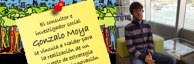 El consultor e investigador social Gonzalo Moya se vincula a Naider