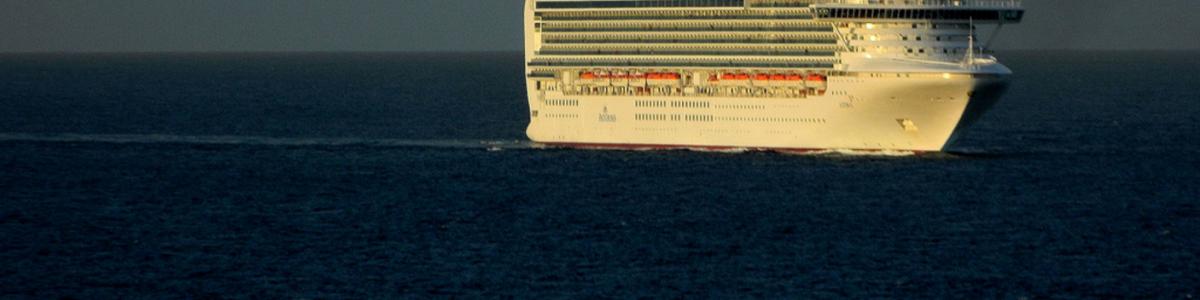 La huella ambiental de los cruceros