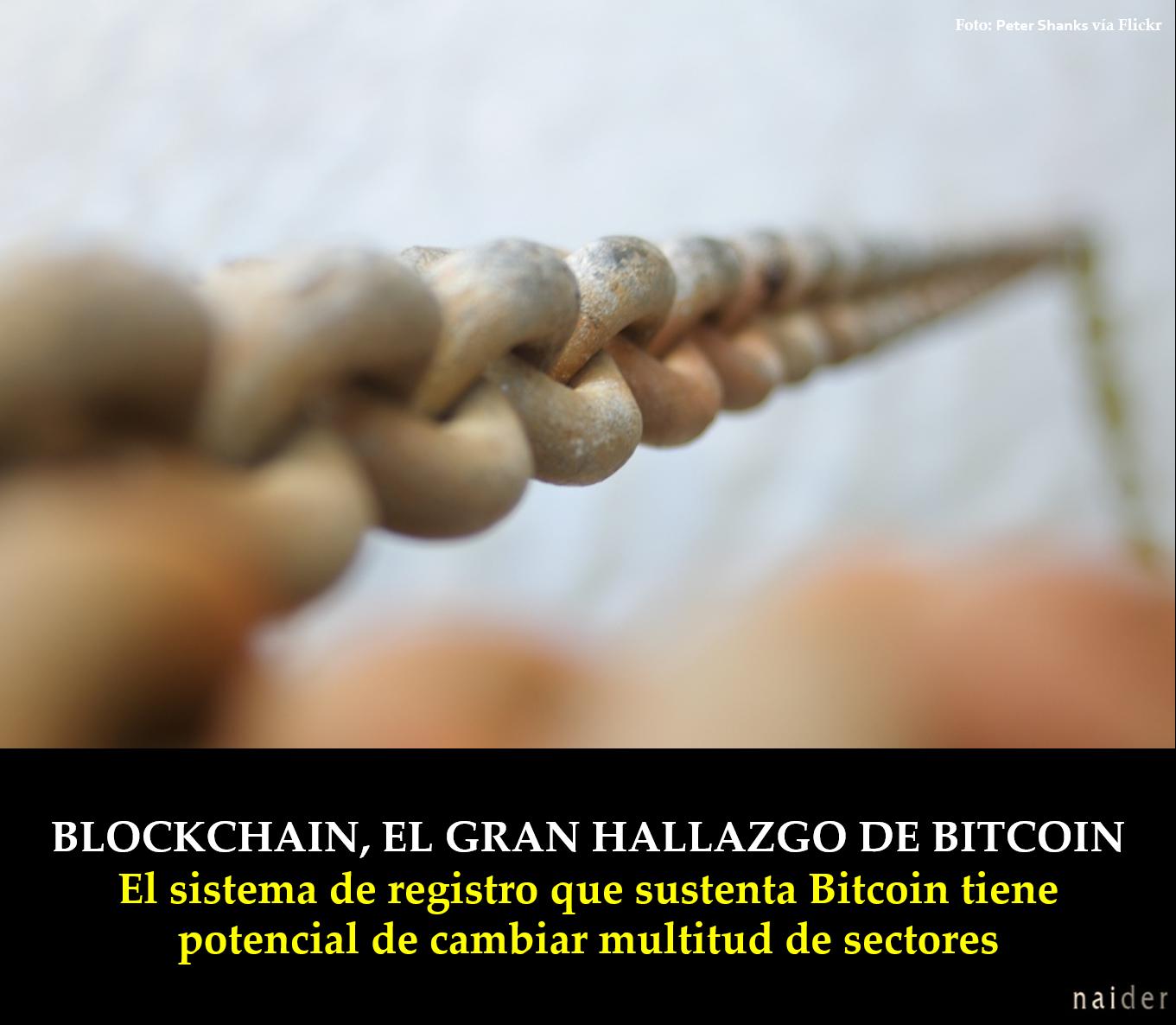 Blockchain, el gran hallazgo de Bitcoin infopost