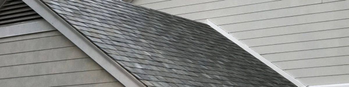 Los techos solares camuflados de Tesla