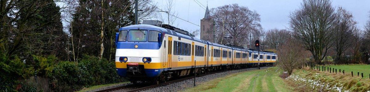 El viento impulsa los trenes holandeses