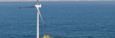 Escocia inaugura la primera granja eólica flotante