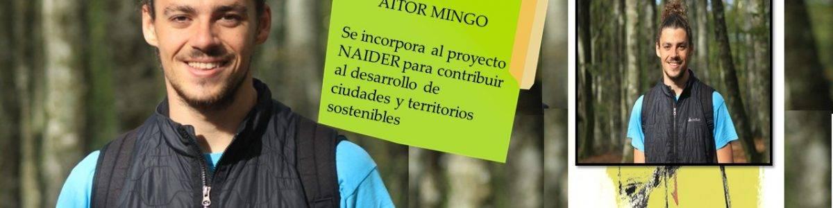 Aitor Mingo, científico ambiental en ciudades sostenibles se une al proyecto Naider