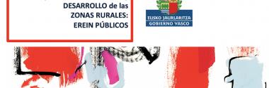 EREIN PÚBLICOS: Ayudas a la promoción y el desarrollo de las zonas rurales de la C.A. de Euskadi
