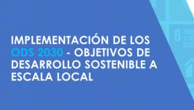 ODS 2030 MUNICIPIOS Y TERRITORIOS