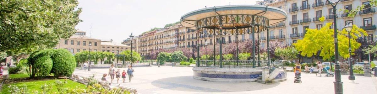 Radiografía de la Plaza Easo de Donostia