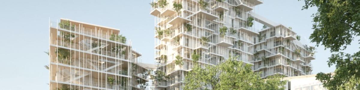 Las torres de madera, alternativa al cristal y el hormigón