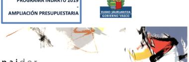 Programa Indartu 2019 – Ampliación Presupuestaria