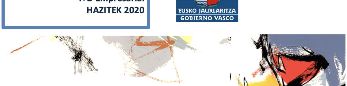 Programa de Apoyo a la I+D Empresarial HAZITEK 2020